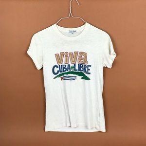 Lucky brand tee VIVA CUBA LIBRE